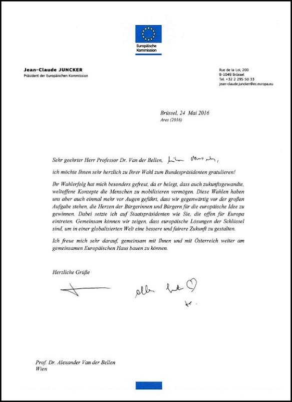 Junckers Herzchen an vdB