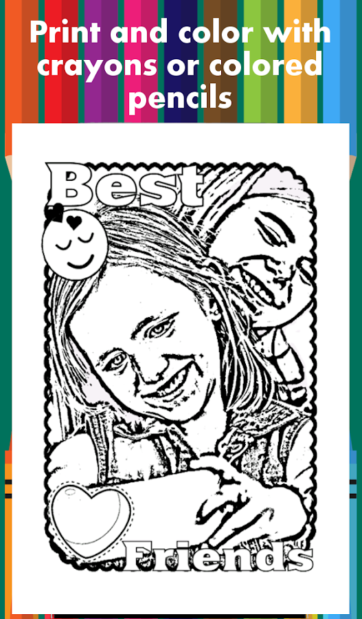 coloring page maker printable coloring pages screenshot - Coloring Page Maker