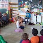 Voorlezen in de kleuterschool door 5B 16