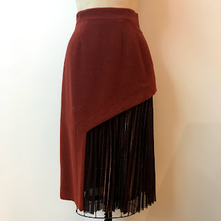 ÖHLIN/D Lurex/Wool Skirt
