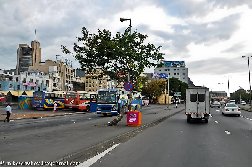 Автобусный вокзал в Порт Луи