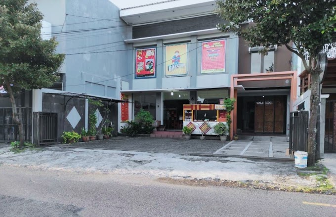 Rumah Luxury Modern dan Ruang Usaha strategis Tengah Kota Kawasan Exclusive Jalan Raya Utama Timoho Kodya