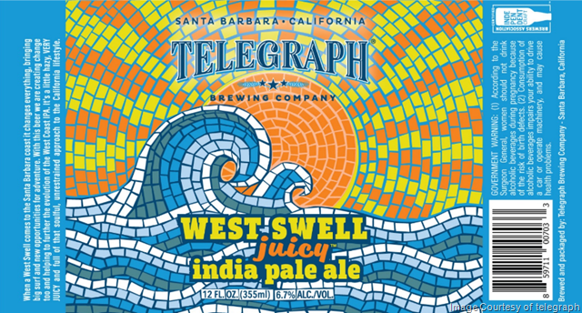 Telegraph Brewing Releasing West Swell Juicy IPA
