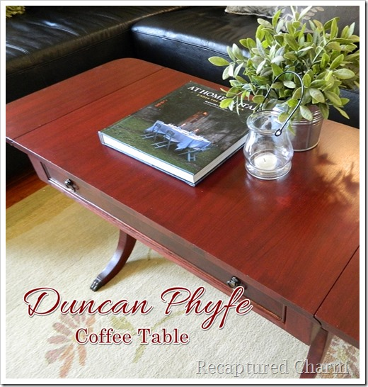 Duncan Phyfe Coffee Table