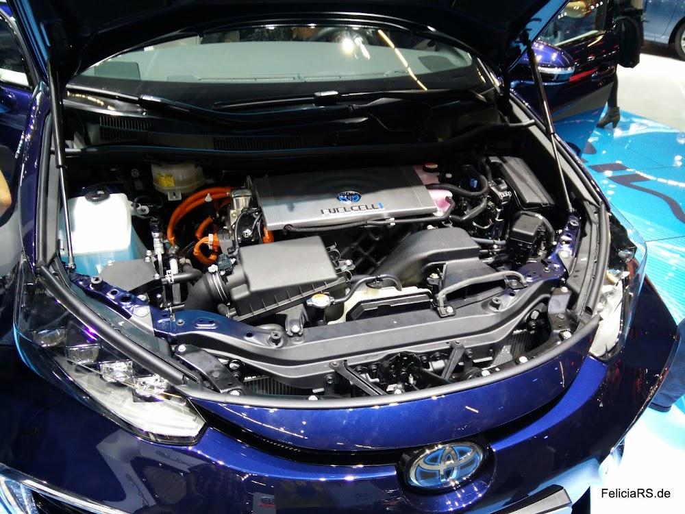 Motorraum Toyota Mirai