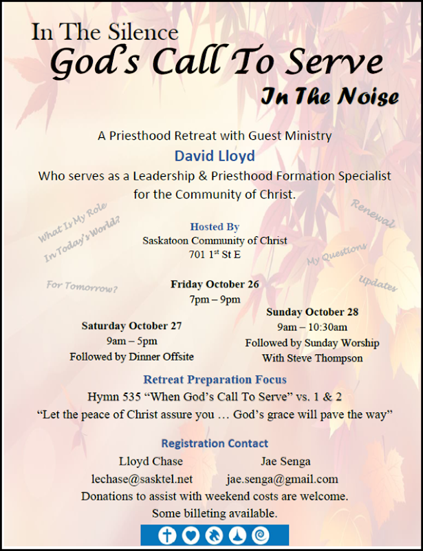 Priesthood Retreat Saskatoon