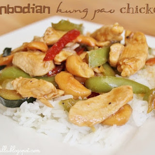 Cambodian Kung Pao Chicken