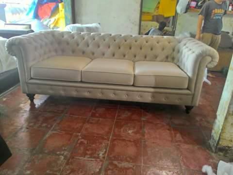 service kursi sofa kancing murah di bekasi