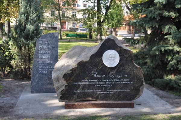 Kamień Pamięci w Maciejowicach