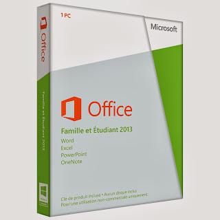 Office 2013 Famille et Etudiant