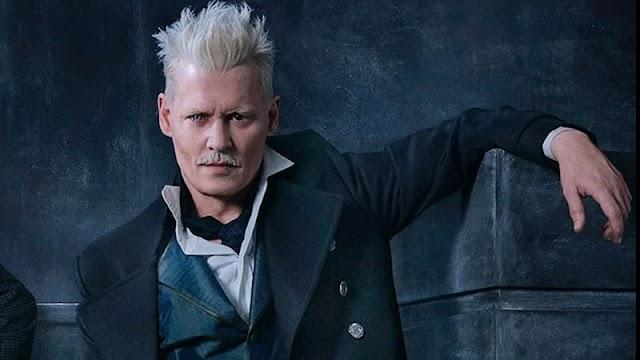 Johnny Depp voltará como Grindelwald em Animais Fantásticos 3 mesmo processado por abuso, afirma site