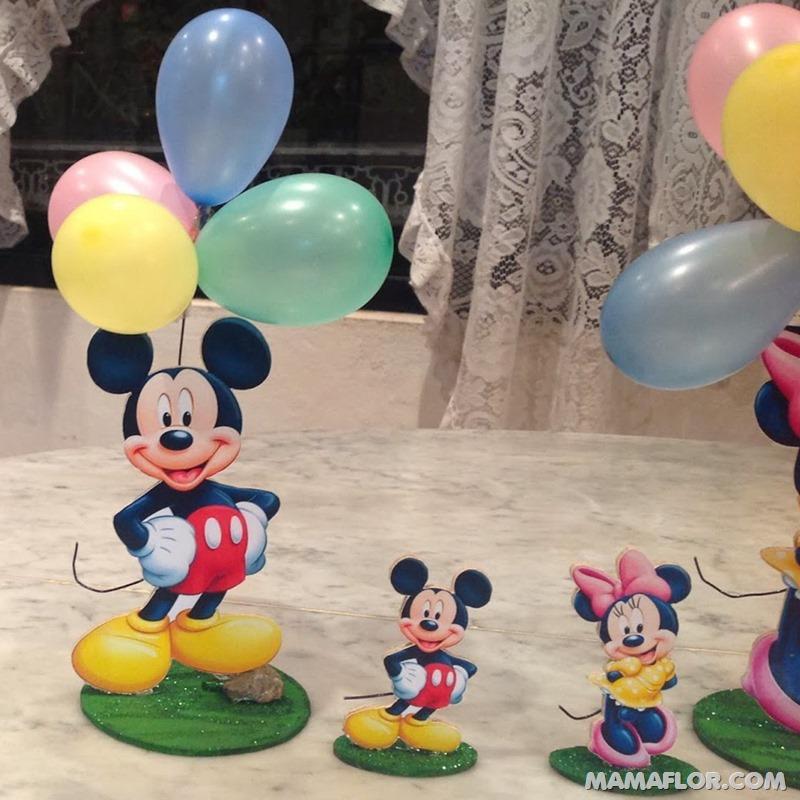 centro de mesa mickey y minnie mouse --- (14)