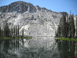 View of Lady Lake from just below our camp. One of the warmest alpine lakes I have been in. Does it get any better?