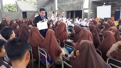 SMAN Unggul Dharmasraya Gelar Motivasi Prestasi Untuk SMP Se-kabupaten