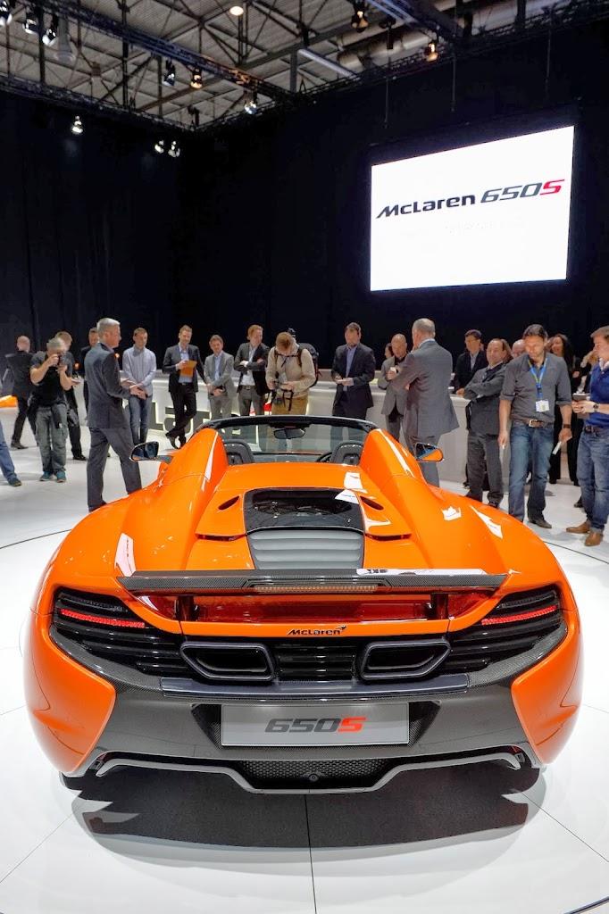 McLaren 650S Spider Geneva Motor Show 26