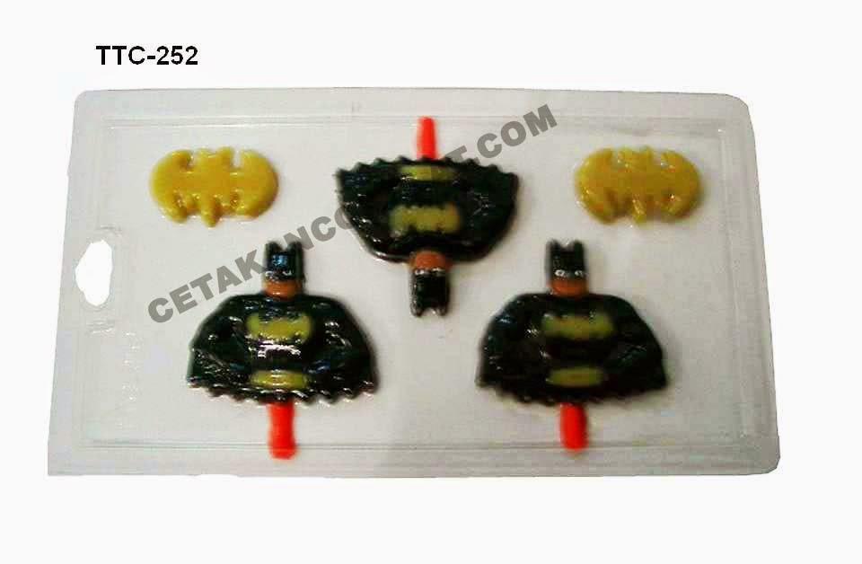 Cetakan Coklat TTC252 Batman Superhero
