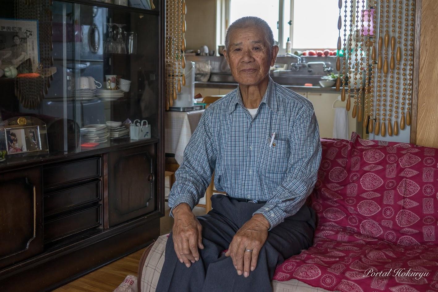 杉山正位さん(86歳)
