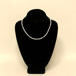 18K Gold and Seed Pearl Necklace