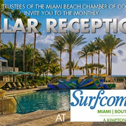 February Pillar Reception at The Surfcomber Miami | South Beach