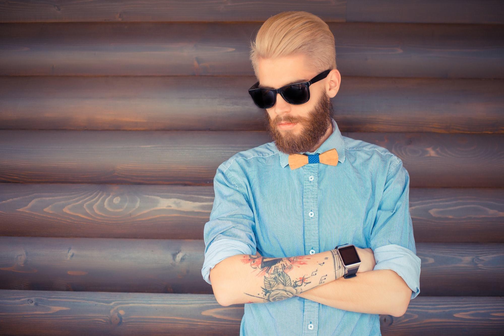 Trendy Men's Popular Haircuts -Short on Sides Long 3