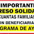 ¿Qué porcentaje de la población está cubierto por la Ingreso  Solidario ?