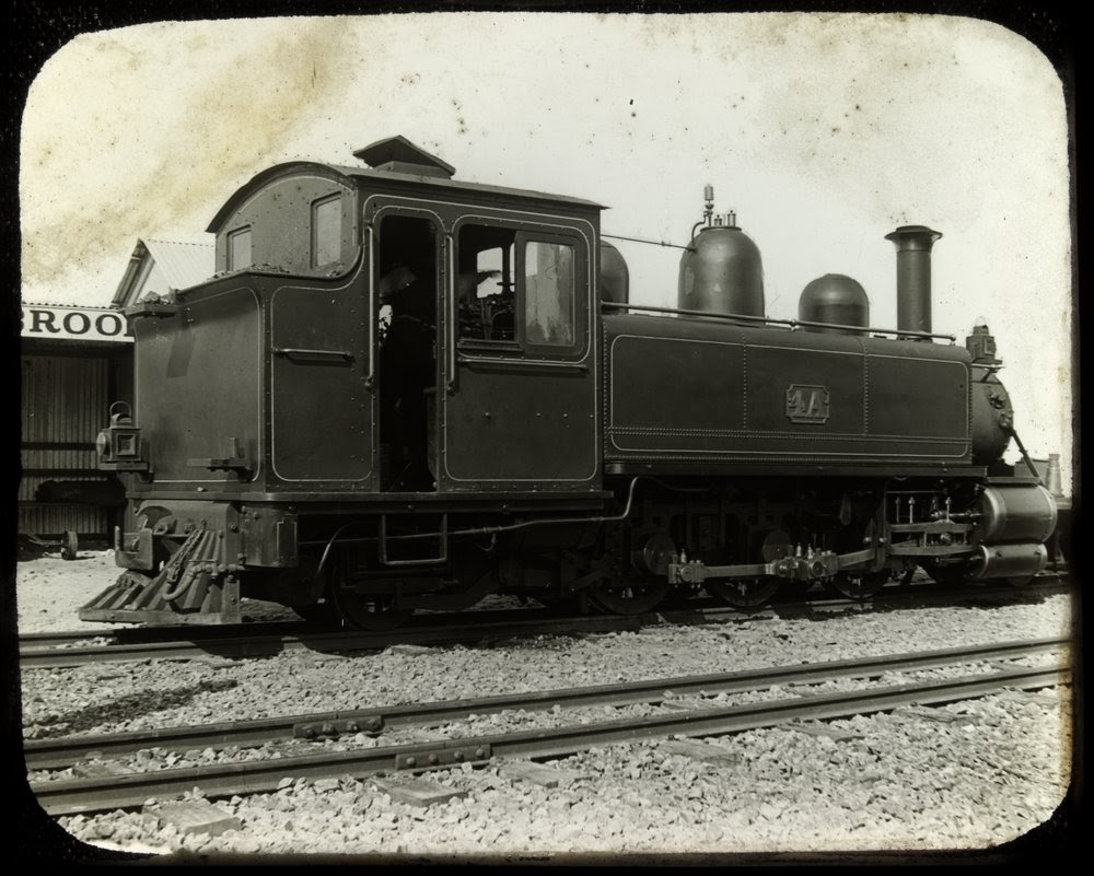 Gembrook train ( Locomotive 4A ) State Library of Victoria Photo  http://handle.slv.vic.gov.au/10381/76380