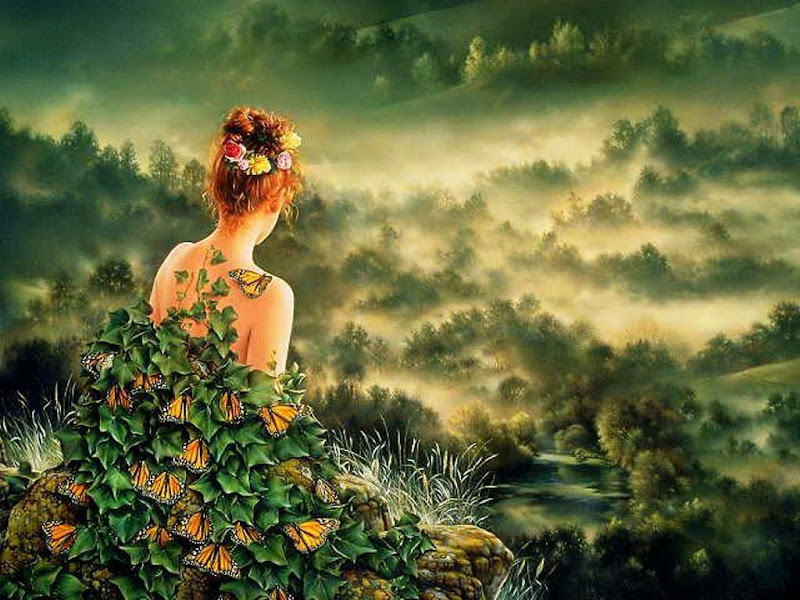 Green Dreams Girl, Green Witches