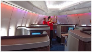 travel first class free