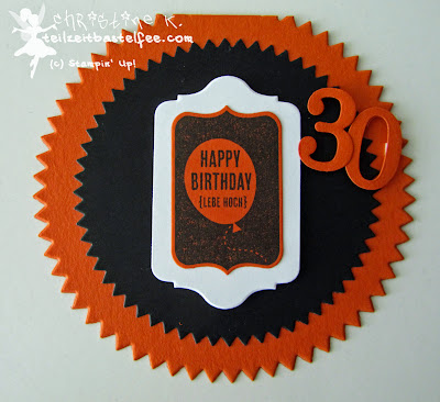 stampin up, male birthday, geburtskarte mann, starburst, chalk talk, heute ist dein tag, day of celebration, 30