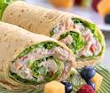 W3) Albacore Tuna Wrap