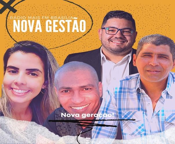 Diretores da Rádio Mais FM Brasília