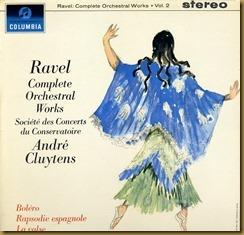 Ravel Rapsodia Cluytens