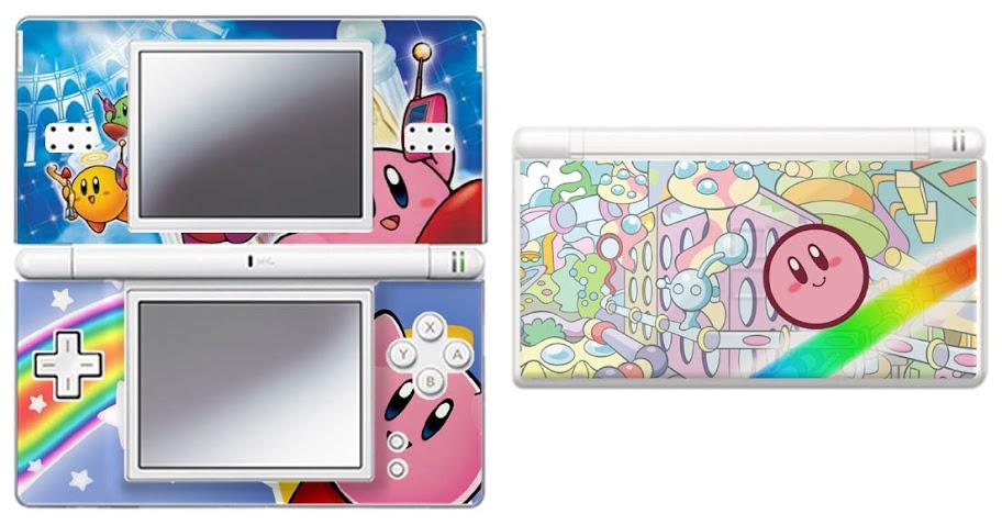 Kirby Nintendo DS Lite Vinyl Skin Sticker Decal 2