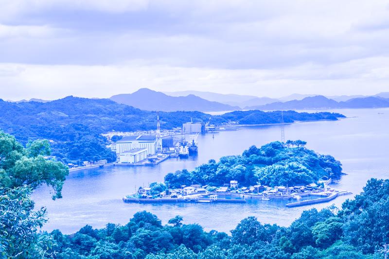 糸山公園展望台 今治 造船 1