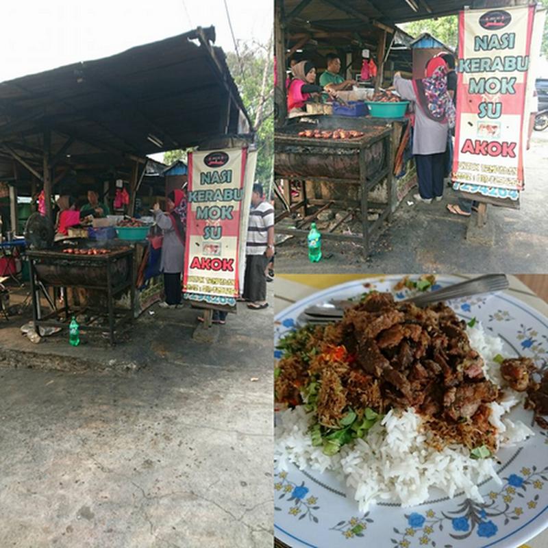 Penangan Nasi Kerabu Mok Su , Gate 1 Putrajaya !