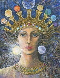 Goddess Ishtar In Her Praise In Her Image, Gods And Goddesses 1