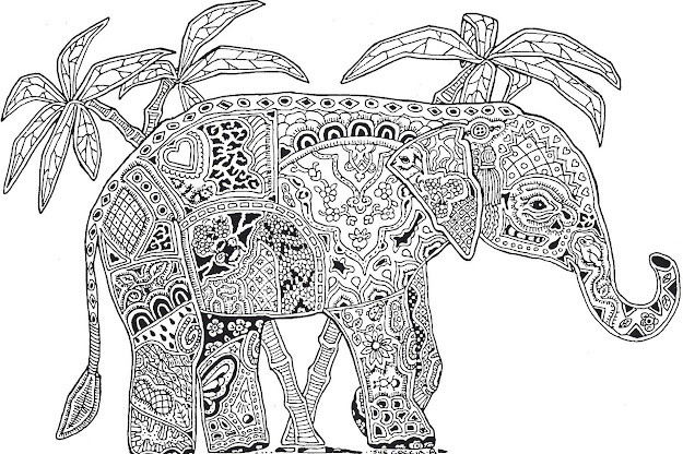 Dont Forget To Share Difficult Animals Coloring Pages For Adults On Colouring  Pages Download Online Printable