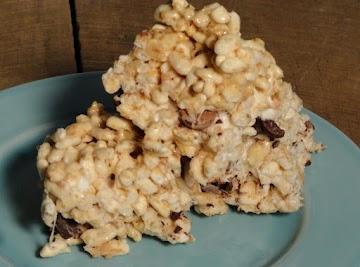 Hazelnut-toasted Coconut Crispy Treats Recipe