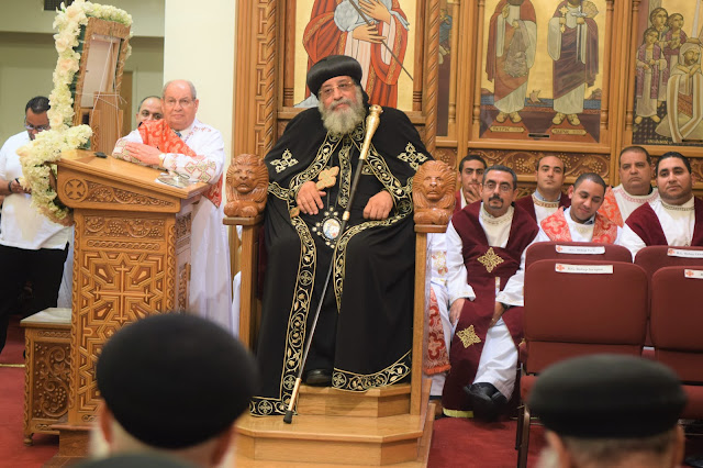 His Holiness Pope Tawadros II visit to St. Mark LA - DSC_0247.JPG