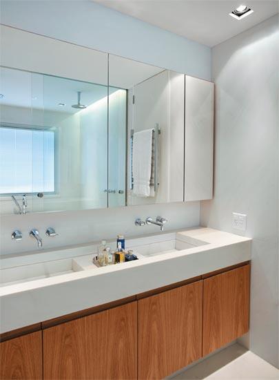 DECORAÇÃO DE BANHEIROS Banheiro decorado -> Cuba Para Banheiro Dupla