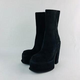 Calvin Klein 205W39NYC Black Boots