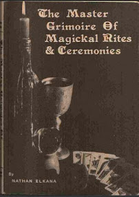 Cover of Nathan Elkana's Book The Master Grimoire of Magickal Rites And Ceremonies