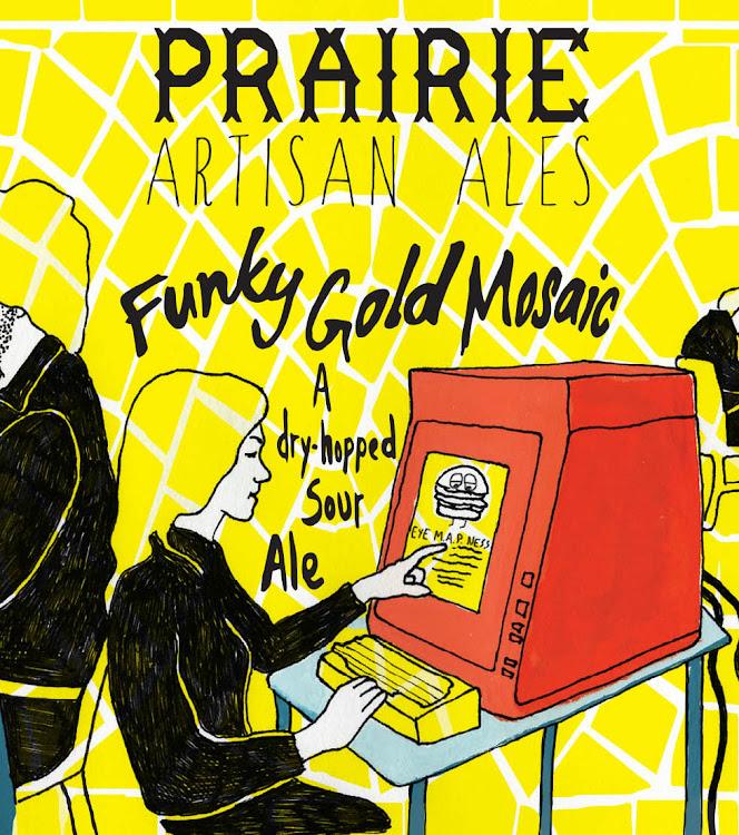 Logo of Prairie Funky Gold Mosaic