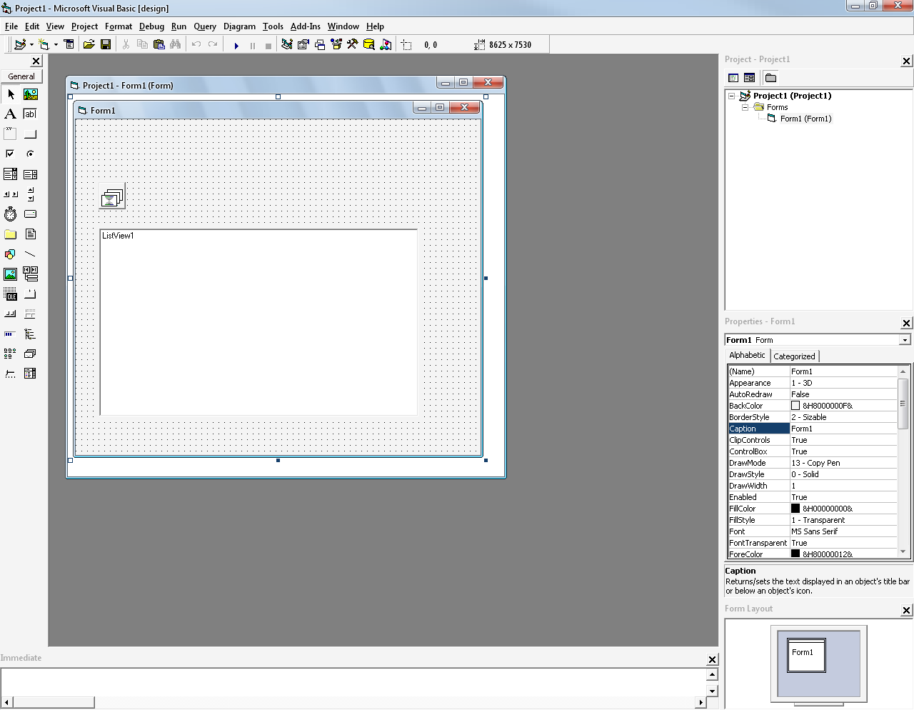 Create Icon in ListView Component Visual Basic 6 | Mabzicle