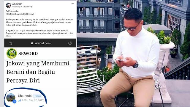 Eks Penulis Seword: Kakak Pembina Perintahkan Puja-puji Jokowi, Jelekkan Ulama dan Ajaran Islam