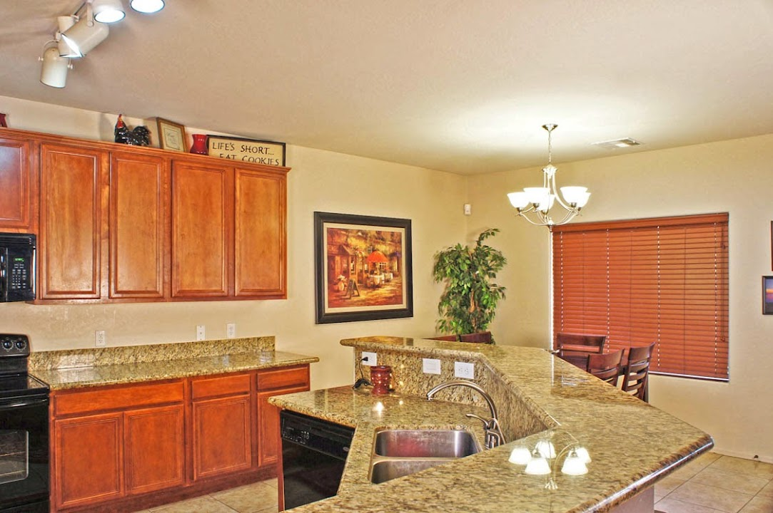 Granite in kitchen of Casa Grande homes for sale