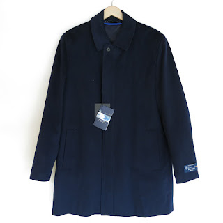 Tom James X Loro Piana NEW Navy Coat