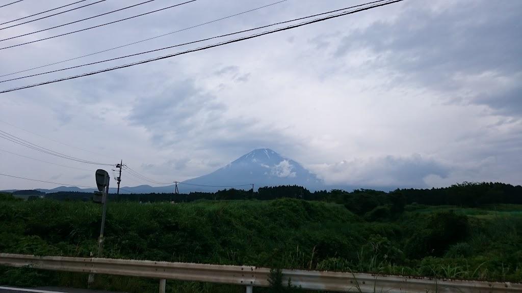 裾野市から見える富士山の写真