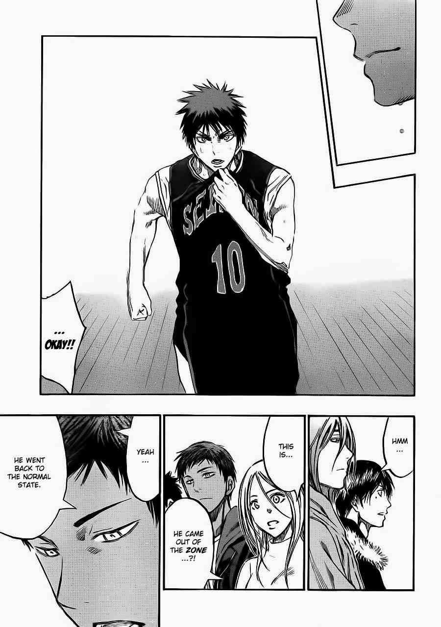 Kuroko no Basket Manga Chapter 235 - Image 12