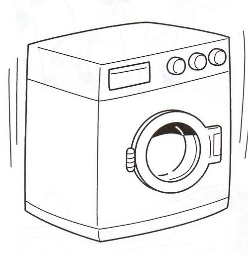 Dibujos De Lavadoras Para Colorear